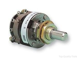 Rotary Switch 6 Position 2 Pole 30 1 A 115 V 44 Series