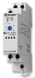 Analogue Timer 80 Series Off delay 0 1 S 24 H 6 Ranges 1 Changeover Relay