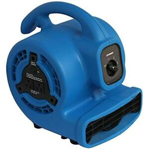 P 80a 1 8 Hp 475 Cfm 3 Speed Mini Air Mover Dryer Fan Blower Build in Power