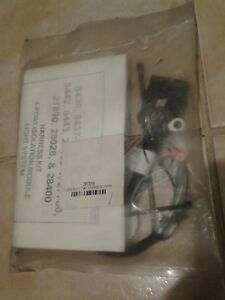 genuine Western Fisher 26359 3 pin Snow Plow Side Control Harness