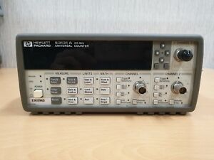 Hp 53131a Universal Frequency Counter Option 010 030