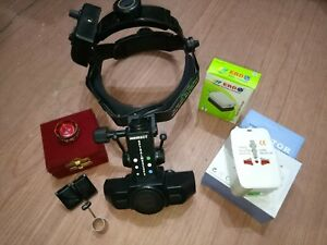 Indirect Ophthalmoscope Binocular Led 20d Double Aspheric Lens