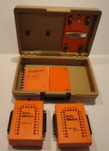 Vintage Modulab Pair medic Model 3000 Telecommunications Cable Test System