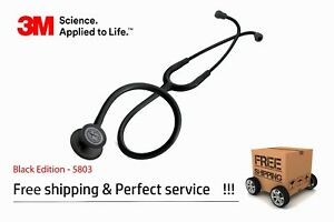 Littmann Classic Iii 3m Stethoscope Black Edition Finish 5803 Unisex New