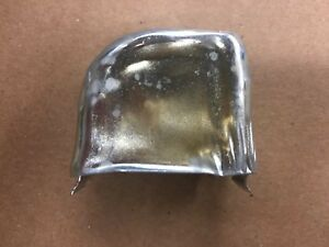 1970 74 Corvette Chevy Choke Cover On Intake 350 454 Rochester Q Jet New