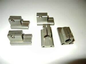 Newport Micrometer Holder Block For Newport 462 One Lot Of 5 Pcs