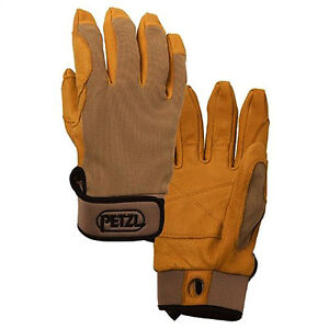 Petzl Cordex Belay Climbing Gloves Tan Extra Large K52xlt