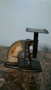 1904 6 Postal Scale By Triner Scale Mfg Co Chicago Pat 2 23 1904