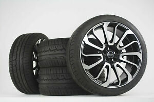 22 Range Rover Autobiography Wheels Tires Hse Sport Land Rover Black Rims 2019