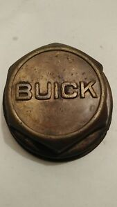 Vintage Rare Buick 1930s Center Cap Hub Cap Brass Lug Style Threaded Nice