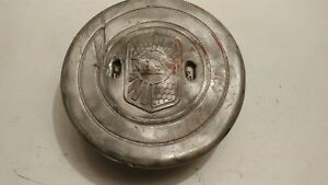 Vintage Rare Nash 1930s Center Cap Hub Cap Aluminum Threaded Nice