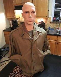 Lifesize Military Wwii Male Torso Mannequin Bust peter Free Us Shipping