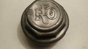 Vintage Rare Reo 1930s Center Cap Hub Cap Aluminum Lug Style Threaded Nice