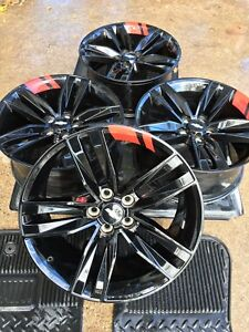 20 Chevy Camaro Redline Wheels Rims Factory 20 Inch