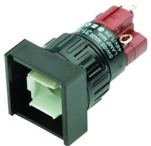 Switch Pushbutton Dpdt 5a 250v Nwk Pn 31 282 025