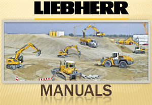 Liebherr L508 Compact Wheel Loader Tier 3 Stage Iii a Service Manual On Cd