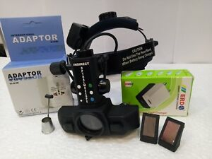 Led Binocular Indirect Ophthalmoscope Rechargeable Medical Specialties In Case