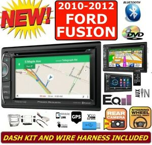 2010 12 Ford Fusion Gps Navigation System Usb Bluetooth Cd Dvd Car Radio Stereo