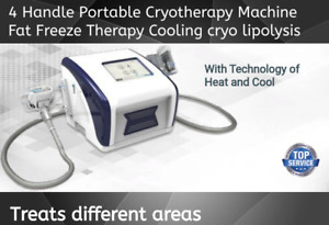 Portable Cryotherapy Machine 4 Handles Cryo Fat Freeze Cold Slim Cryo Lipolysis