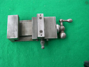 Machinist Precision Vise With 000 050 Graduations On Handle Hardened Jaws