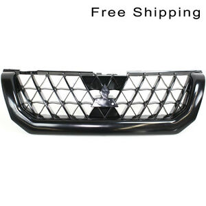 Front Painted Black Grille Fits 2002 03 Mitsubishi Montero Sport Mi1200238