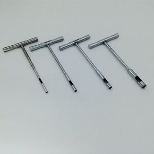 4 Pcs Set Of Hollow Mill For Removal Bone Screws Extractor Orthopedics Instrume