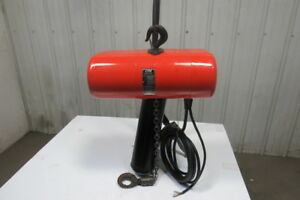 Cm Lodestar L2 Electric Chain Hoist 1 Ton 2 Speed 5 16 Fpm 460v 3ph 20 Lift