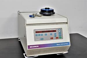 Beckman Coulter Allegra 21r Refrigerated Benchtop Centrifuge W F2402h Rotor