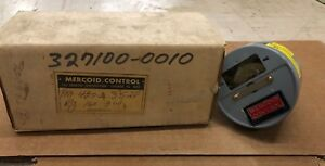 Mercoid Control Temperature Switch Control Fm 437 2 3528