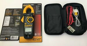 Craftsman 1000a Clamp Meter Tester Ac Dc True Rms Bluetooth Current 1000 Amp