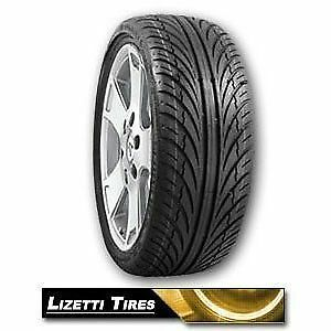 1 New 265 30zr19 Lizetti Tires Lz two 265 30 19 Tire 93w 265 30 19 Sale Stagger