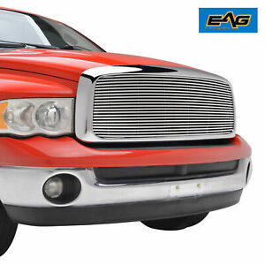 2002 2005 2004 Dodge Ram 1500 2500 Billet Grille Upper Aluminum Replacement