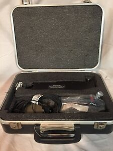 Laserscope Handpiece Microbeam 1 Cable Otologic Neurosurgical Carrying Case