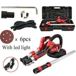 Electric Power Drywall Sanding Sander Tool 750w Dry Wall Carrying Case Kit Light