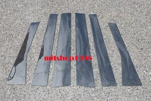 Volkswagen Polo Iv Mk4 Carbon Pillar Panel Covers