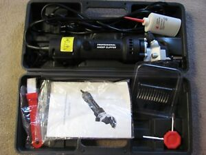 Professional Sheep Animal Shear Clipper N1j gm01 76 Excellent Condition W Case
