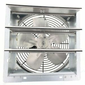 7 Industrial Exhaust Shutter Fan 2 Speed Wall Mount 4310 Cfm Garage Shop Barn