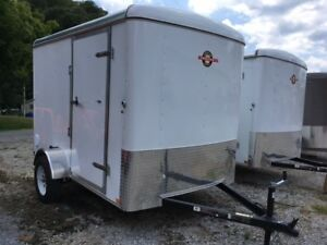 Cargo Trailer 6x10 By Carry On Trailers