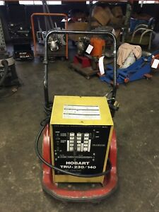 Hobart Tru 230 140 Welder Single Phase