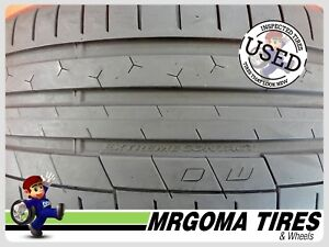 1 Continental Extremecontact Sport Plus 235 35 20 Used Tire 84 Life 88y 2353520