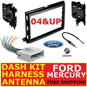 2004 Up Select Ford Mercury Car Radio Stereo Installation Dash Kit Harness Ant