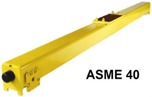 R m Top Running Push Type End Truck Pair Asme 40 Rail Size Rtl09 13