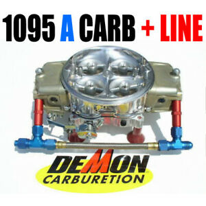 New King Demon 9728025dr 1095 Alcohol Annular Barry Grant Carb With 8 Line Kit