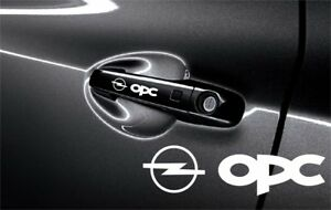 5x Opel Opc Sticker Decals For Door Handle And Mirrors Self Adhesive