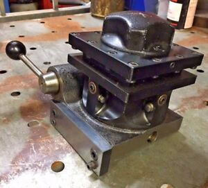 Hardinge L6 b 4 Position Turret Indexing Metal Lathe Tool Post