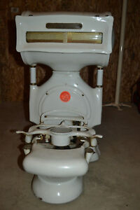 Vtg Toledo Porcelain Candy Scale General Store For Restoration Parts