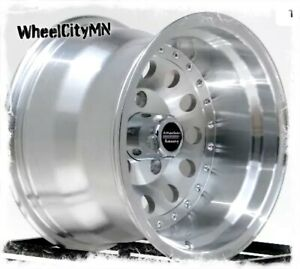 15 X10 American Racing Outlaw 2 Ar62 Wheels Fits Ford Full Size Bronco 5x5 5