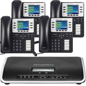 Business Phone System By Grandstream Enhanced Package 1 Year Of Phone Service
