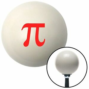 Red Pie Ivory Shift Knob With M16x1 5 Insert 351 Ratrod Project Parts Procharger