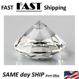 Jewelry Case Fixture Display Prop Fake Large Diamond For Jewelry Display Case